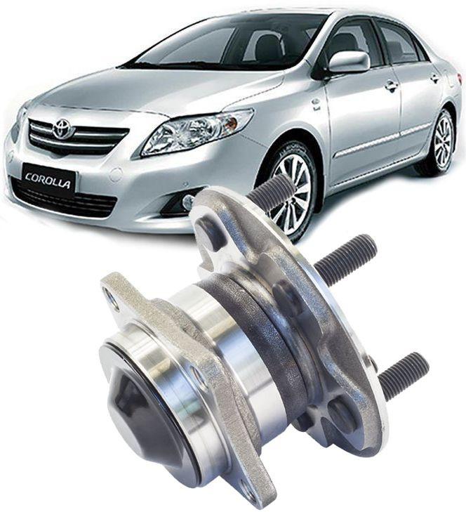 Cubo De Roda Com Rolamento Traseiro Toyota Corolla e Fielder apos 2009 Sem Freio ABS