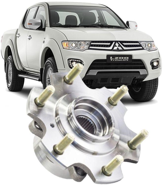 Cubo de Roda Dianteir L200 Triton 3.2 Diesel 3.5 Flex Apos 2007 Dakar 2010/