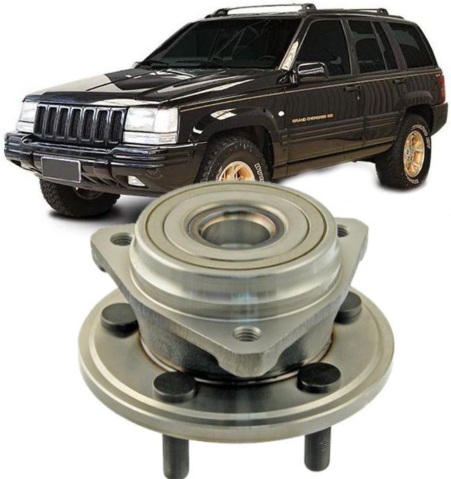 Cubo de Roda Dianteira Com Rolamento Cherokee 4X4 ate 1998 Troller
