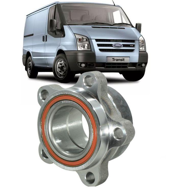 Cubo de Roda Dianteira Com Rolamento Ford Transit