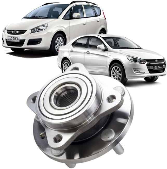 Cubo De Roda Dianteira Com Rolamento Jac Motors J6 E J5 Com Abs De 2011 À 2016