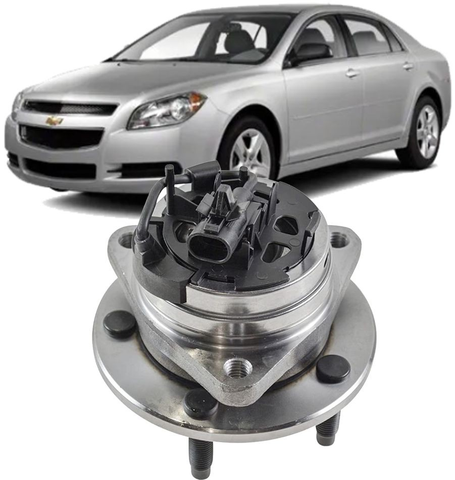 Cubo de Roda Dianteiro Com Rolamento Chevrolet Malibu 2.4 16V de 2007 à 2013
