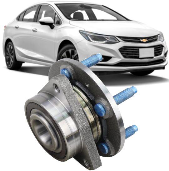 Cubo de Roda Dianteiro com Rolamento Cruze 1.4 16V Turbo de 2017 À 2021