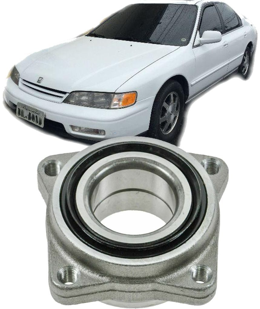 Cubo de Roda Dianteiro com Rolamento Honda Accord de 1990 a 1997  com 4 furos
