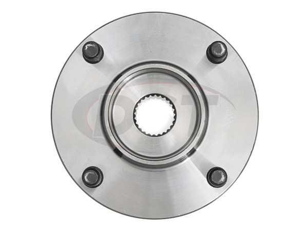 Cubo de Roda Dianteiro Com Rolamento Nissan Tiida E Livina Apos 2007 Com ABS