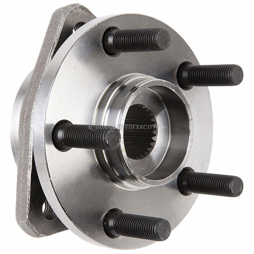 Cubo de Roda Dianteiro Com Rolamento Stratus 1995 A 2006 Com ABS