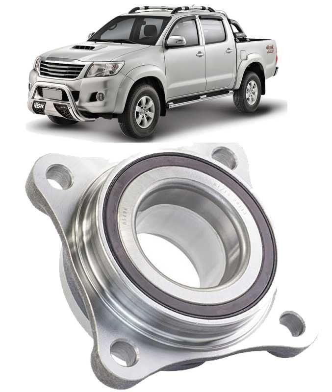 Cubo de Roda Dianteiro Com Rolamento Toyota Hilux de 2005 a 2015