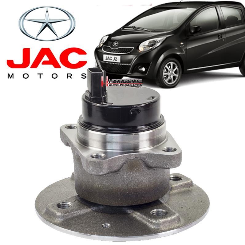 Cubo de Roda Traseira com Rolamento Jac Motors J2 Com ABS