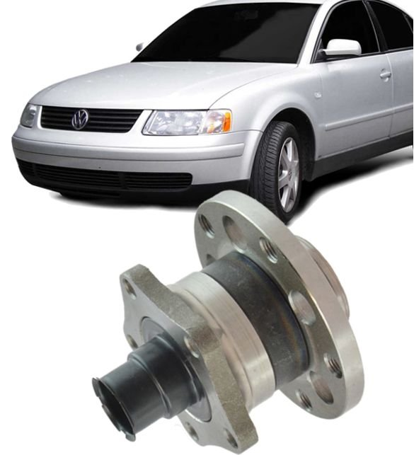 Cubo de Roda Traseira Com Rolamento Passat de 1998 a 2005 Audi A6 97/03