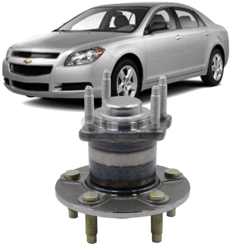 Cubo de Roda Traseiro Com Rolamento Chevrolet Malibu 2.4 16V