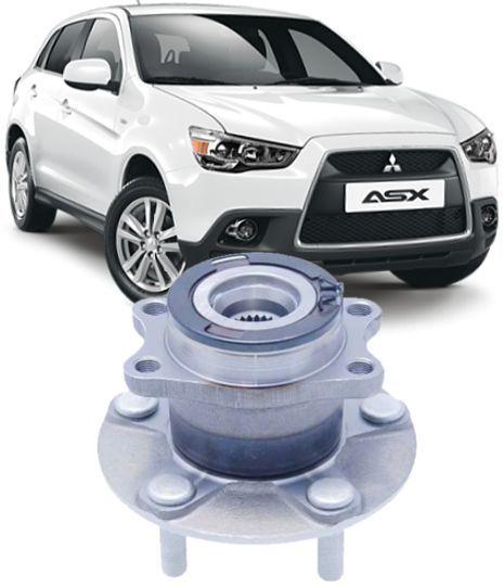 Cubo de Roda Traseiro Rolamento Mitsubishi Asx 2.0 16v 4x4 2010 A 2013 Outlander 2.4 e 3.0 4X4 ate 2012