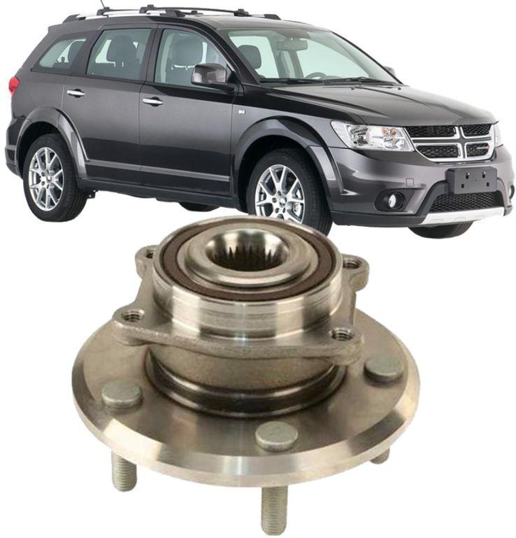 Cubo Roda Dianteiro Com Rolamento Dogde Journey 2.7 V6 e RT 3.6 de 2008 À 2015