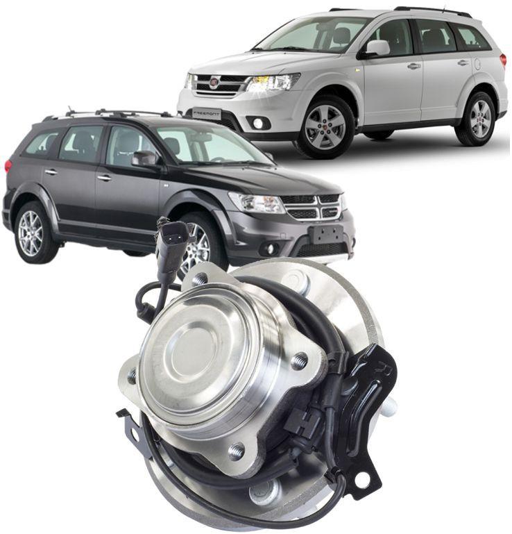 Cubo Roda Traseiro Com Rolamento Freemont 2.4 16V e  Journey 2.7 V6 4x2 Ld Direito