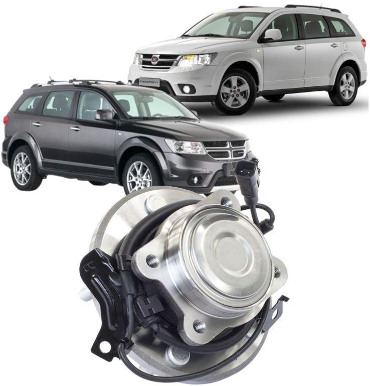 Cubo Roda Traseiro Com Rolamento Freemont 2.4 16V e  Journey 2.7 V6 4x2 Ld Esquerdo
