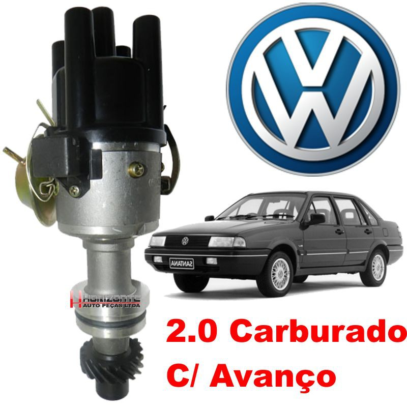 Distribuidor Ignicao AP Gol Parati Santana Logus 2.0 Hall Carburador
