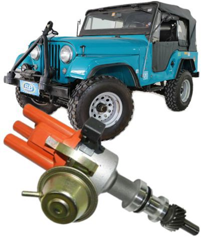 Distribuidor Ignicao Com Sensor Hall Jeep 4cc Rural F75 F100 E Maverick 4cc Ohc Carburado