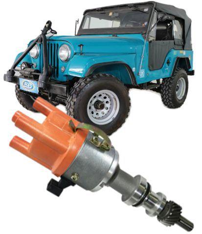 Distribuidor Ignicao Com Sensor Hall Jeep 4cc Rural F75 F100 E Maverick 4cc Ohc Injecao
