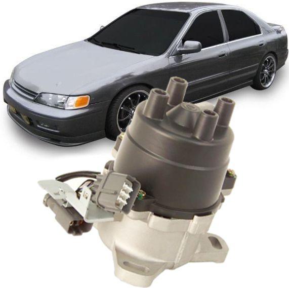 Distribuidor Ignicao Honda Accord 2.2 16v à Gasolina de 1993 à 1997 Com 2 Conectores - D4t9204