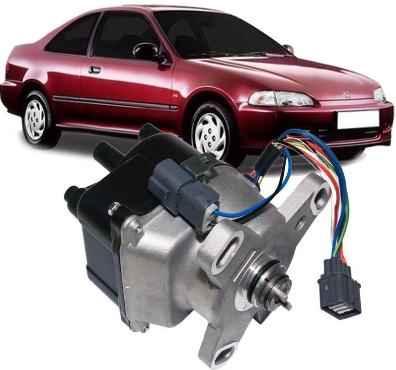 Distribuidor Ignicao Honda Civic 1.5 E 1.6 Sohc Vtec De 1992 A 1995 2 Conectores