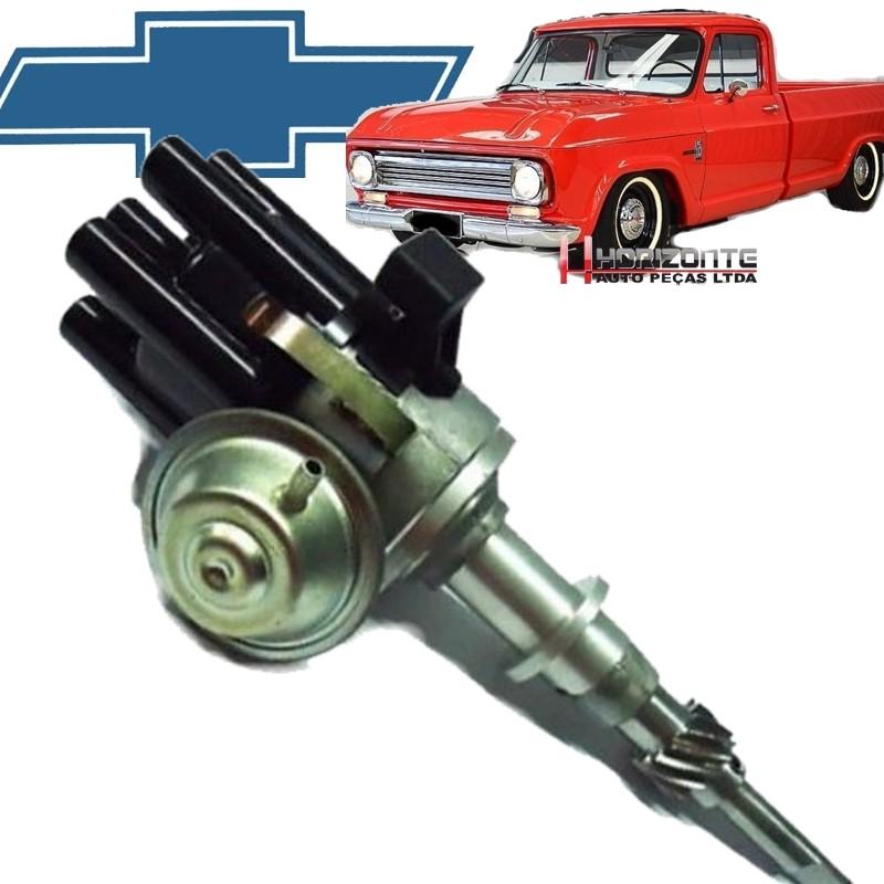 Distribuidor Ignicao Sensor Hall C10 Chevrolet Brasil Veraneio 6cc Carburada