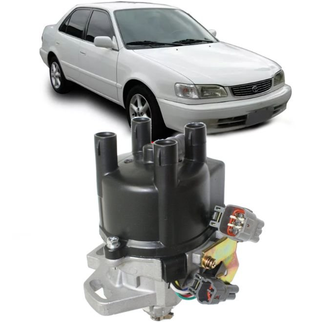 Distribuidor Ignicao Toyota Corolla 1.6  e 1.8  16V de 1993 a 2002