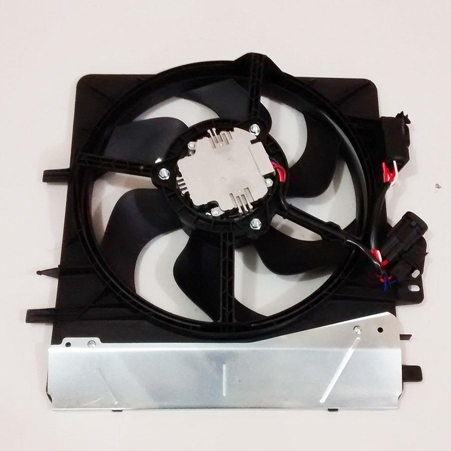 Eletroventilador Ventoinha Radiador Citroen C3 1.4 8V e 1.6 16V de 2003 A 2008 Com Modulo