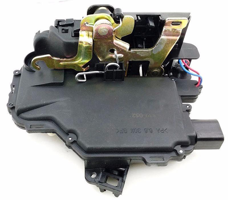 Fechadura Automotiva Elétrica Porta Dianteira Esquerda Golf Bora Passat - 1999 a 2013