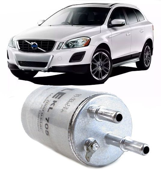 Filtro De Combustivel Volvo Xc60 2.0 T5 e 3.0 T6 de 2009 à 2015