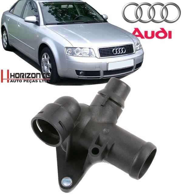 Flange Fluxo Agua Audi A4 e Passat 1.8T Turbo de 1999 A 2006