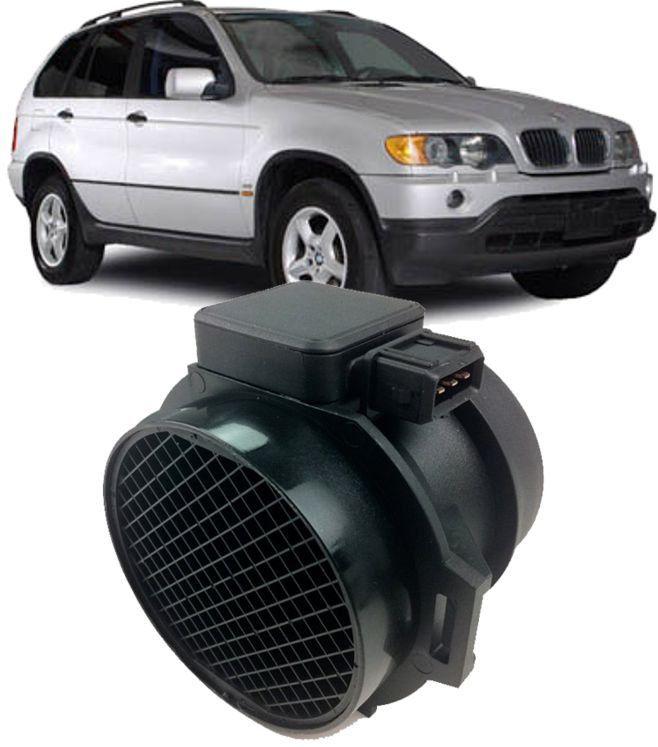 Fluxo Ar Sensor Maf Bmw 330i 530i X5 Z3 3.0 L6 de 2000 à 2006 - 5wk96132