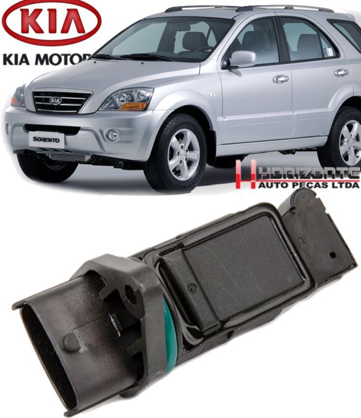Fluxo de Ar Kia Sorento 2.5 16V Diesel de 2004 a 2010