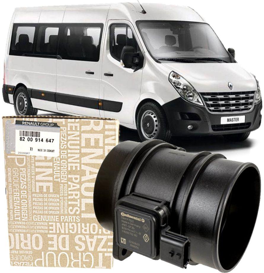 Fluxo De Ar Renault Master 2.3 16v Diesel De 2013 À 2020 - 5wk97022 Original