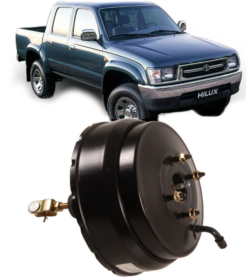 Hidrovacuo Servo Freio Toyota Hilux 2.8 e 3.0 Aspirada de 1993 A 2001