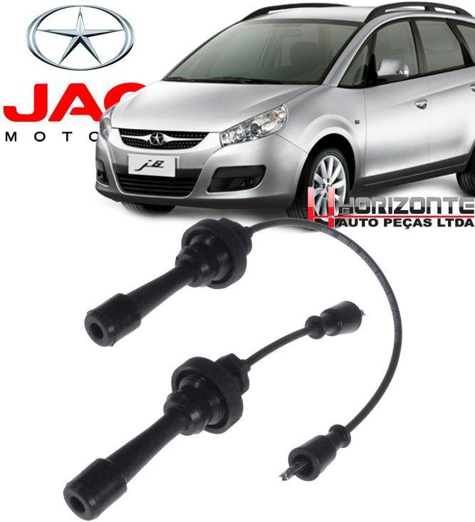Jogo Cabo De Vela de Ignicao Jac Motors J6 2.0 16v de 2010 à 2015