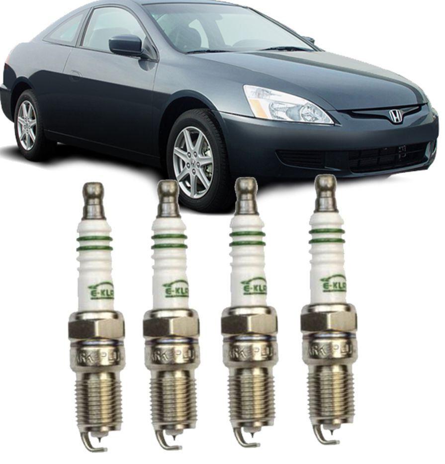 Jogo de Vela Ignicao Iridium Honda Accord 2.0 2.4 3.0 04/... CRV 2.0 2.4