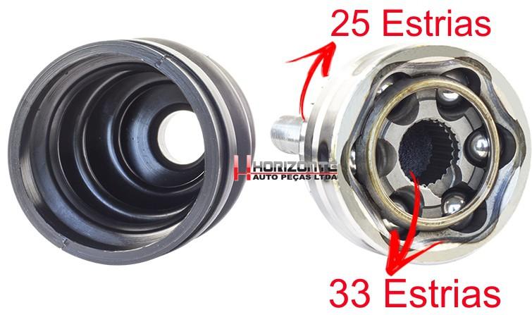 Junta Homocinetica Astra 1.8 e 2.0 e Calibra 2.0 de 1993 a 1996 Com Abs