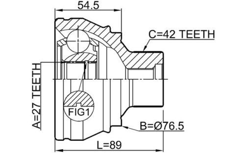 Junta Homocinetica Audi A4 A5 Q5 1.8 2.0 Fsi e Tfsi 2.0 3.2 Tdi Apos 2007
