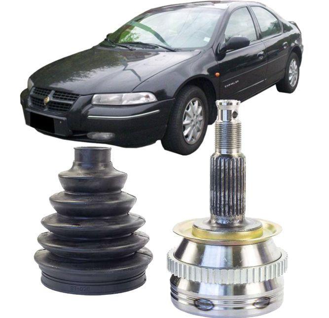 Junta Homocinetica Chrysler Stratus 2.0 4cc e 2.5 6cc de 95 a 2000 Com ABS