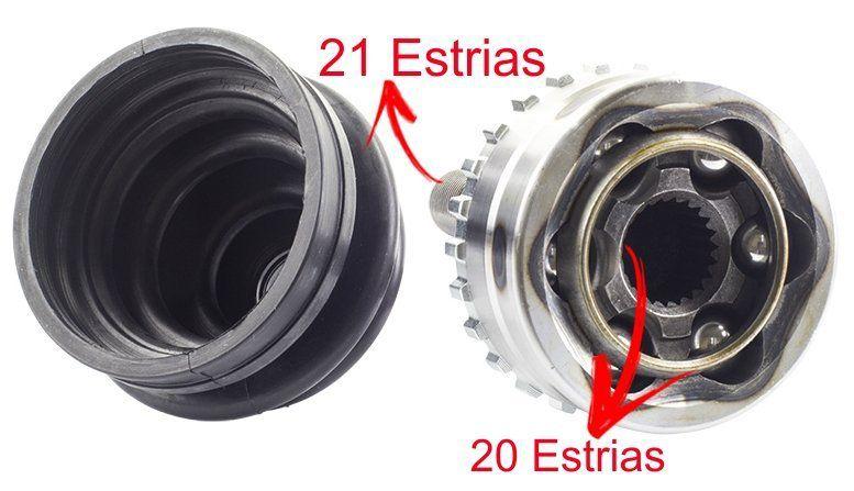 Junta Homocinetica Clio 1.0 8v E 16v de 2000 a 2007 -  20x21