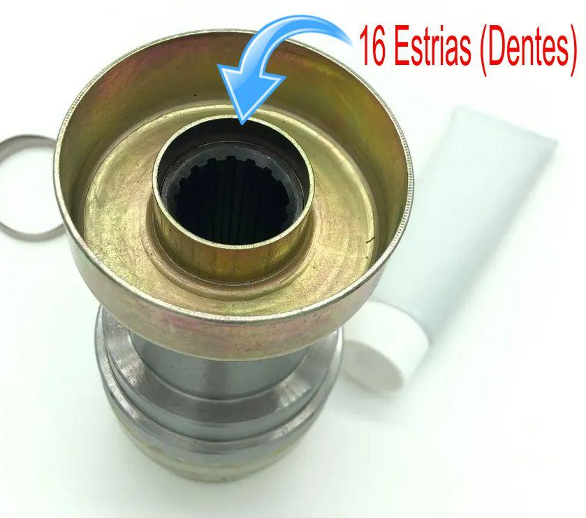 Junta Homocinetica do Cardan Dianteiro S10 Blazer 4x4 de 1998 a 2012 - 16x22