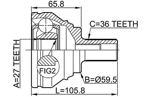 Junta Homocinetica Golf Gti 2.0 16v Tsi Turbo Automático DSG de 2014 à 2020