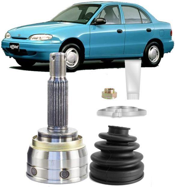Junta Homocinetica Hyundai Accent 1.5 12v E Excel 1.5 12v de 1992 à 2001 - 25x22
