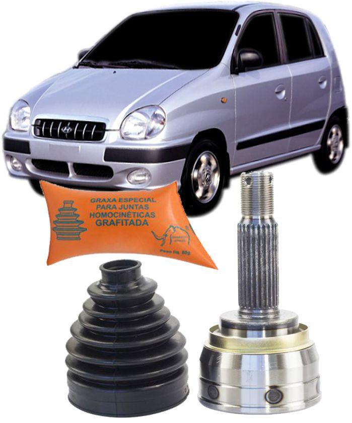 Junta Homocinetica Hyundai Atos Prime 1.0 12V apos 1997 Com ou sem Freio ABS