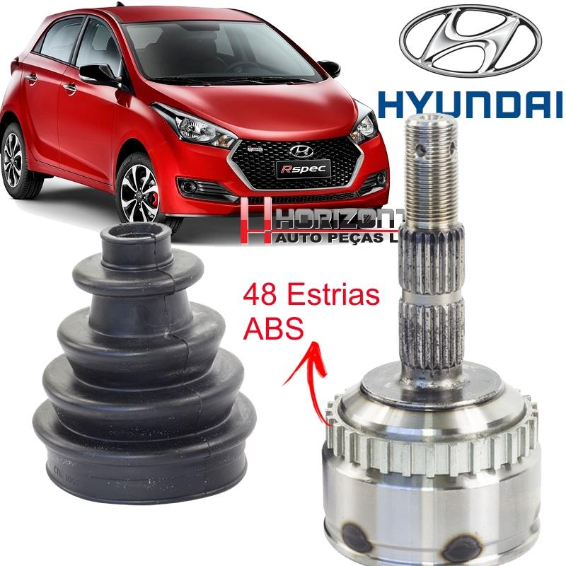 Junta Homocinetica Hyundai HB20 1.0 12V Manual C/ABS- 25x20