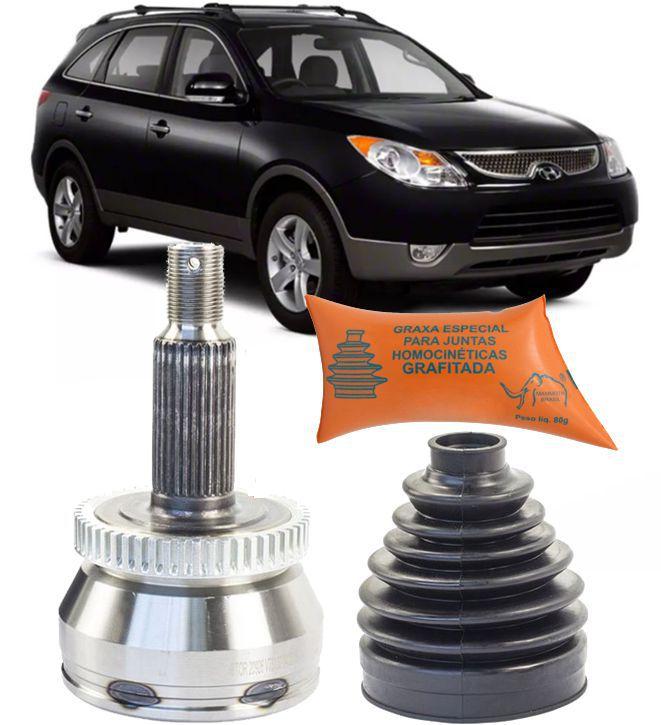 Junta Homocinetica Hyundai Santa Fe 3.5 V6 Vera Cruz 3.8 Apos 2007 e Azera 3.3 ate 2010 com 36X30 Estrias