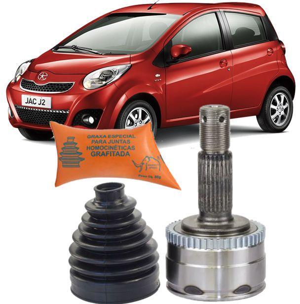 Junta Homocinetica Jac Motors J2 1.4 16v VVT Gasolina ou Flex de 2011 À 2015