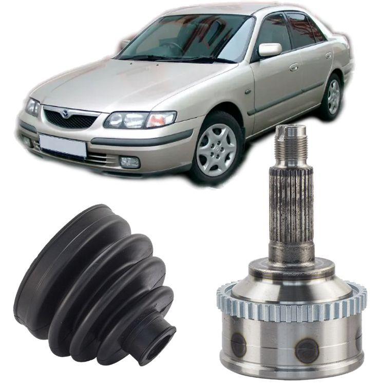 Junta Homocinetica Mazda 626 2.5 V6 de 1992 a 2000 Com freio Abs