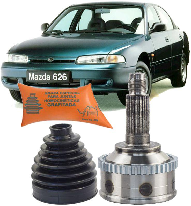 Junta Homocinetica Mazda 626 2.5 V6 de 1992 a 2000 com Freio Abs -26x28
