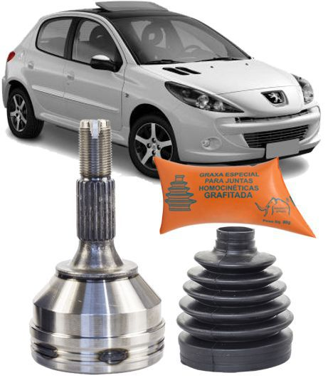 Junta Homocinetica Peugeot 207 1.4 8V Flex Passion e 208 1.5 Alllure