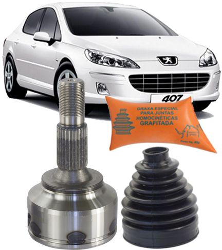 Junta Homocinetica Peugeot 407 e Citroen C5 2.0 16V Automatico de 2005 À 2012 - 28x34
